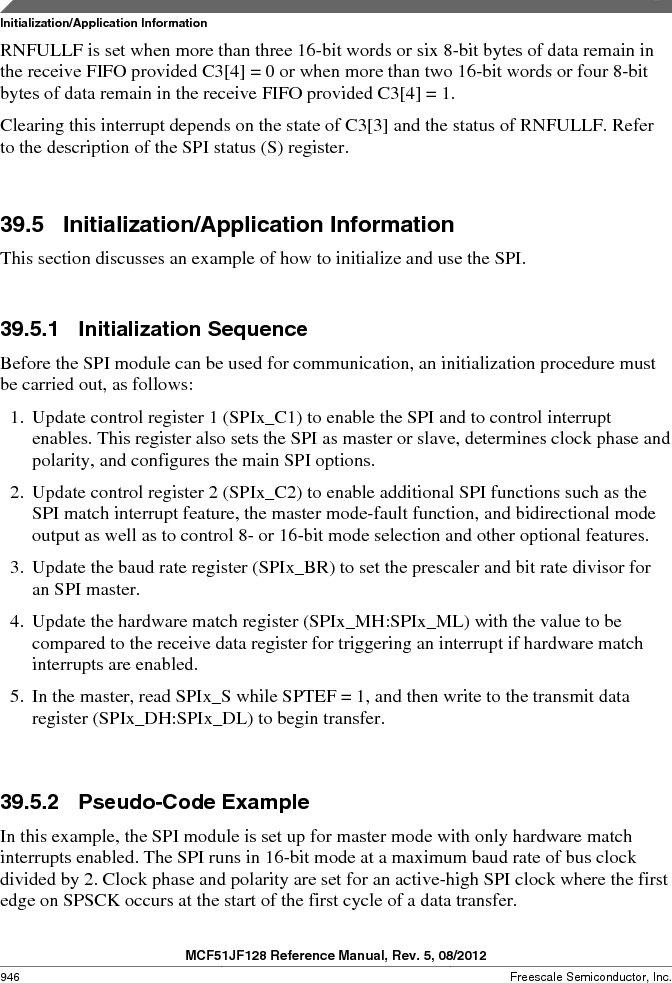 MCF51JF32VHS ,Freescale Semiconductor厂商,IC MCU 32BIT 32KB FLASH 44LGA, MCF51JF32VHS datasheet预览  第946页
