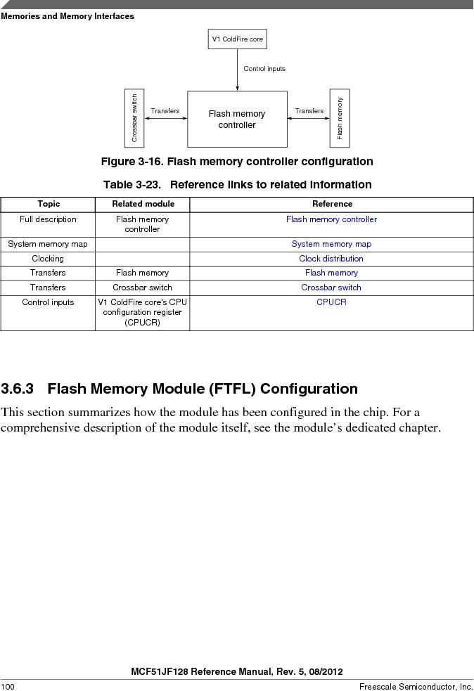 MCF51JF32VHS ,Freescale Semiconductor厂商,IC MCU 32BIT 32KB FLASH 44LGA, MCF51JF32VHS datasheet预览  第100页