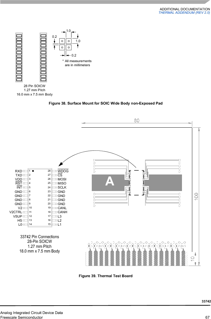 MC33742PEG ,Freescale Semiconductor厂商,CAN Interface IC SBC-E-HS-CAN, MC33742PEG datasheet预览  第67页