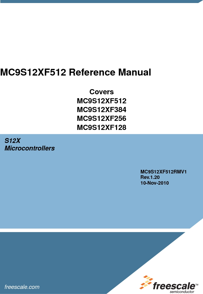 MC9S12XF512MLM ,Freescale Semiconductor厂商,MCU 16BIT 512K FLASH 112-LQFP, MC9S12XF512MLM datasheet预览  第1页