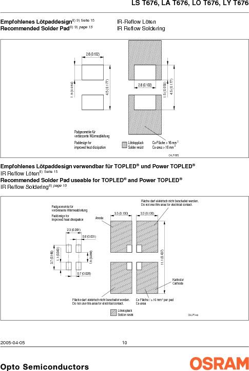 LY G67B-ABCA-26-1-Z ,OSRAM Opto Semiconductors Inc厂商,LED 587NM YELLOW CLEAR 6PLCC, LY G67B-ABCA-26-1-Z datasheet预览  第10页