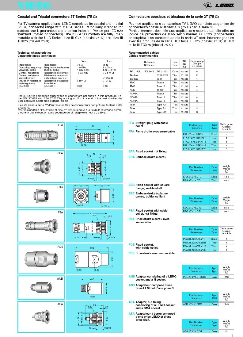 FFA.0A.250.NTAC29 ,LEMO厂商,Circular Push Pull Connectors STRAIGHT PLUG CABLE COLLET, FFA.0A.250.NTAC29 datasheet预览  第3页