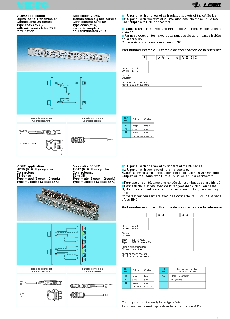 FFA.0A.250.NTAC29 ,LEMO厂商,Circular Push Pull Connectors STRAIGHT PLUG CABLE COLLET, FFA.0A.250.NTAC29 datasheet预览  第23页