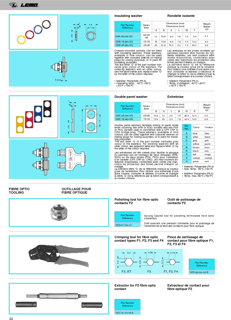 FFA.0A.250.NTAC29 ,LEMO厂商,Circular Push Pull Connectors STRAIGHT PLUG CABLE COLLET, FFA.0A.250.NTAC29 datasheet预览  第34页