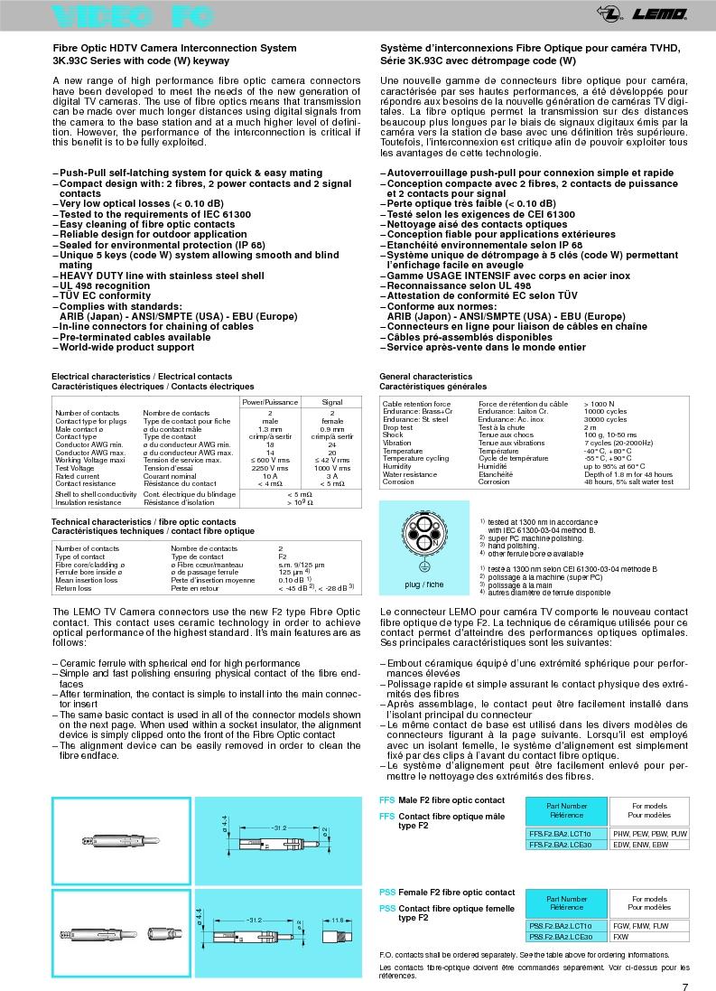 FFA.0A.250.NTAC29 ,LEMO厂商,Circular Push Pull Connectors STRAIGHT PLUG CABLE COLLET, FFA.0A.250.NTAC29 datasheet预览  第9页