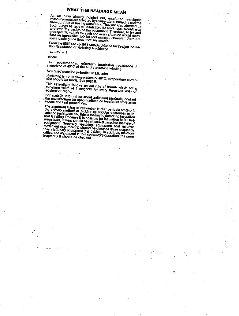 AMC-3 ,Amprobe厂商,MEGOHMMETER HND CRANKD 1000V, AMC-3 datasheet预览  第11页