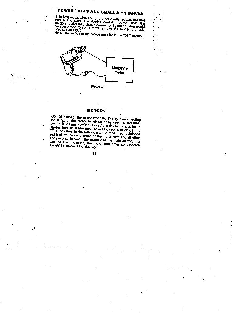 AMC-3 ,Amprobe厂商,MEGOHMMETER HND CRANKD 1000V, AMC-3 datasheet预览  第13页