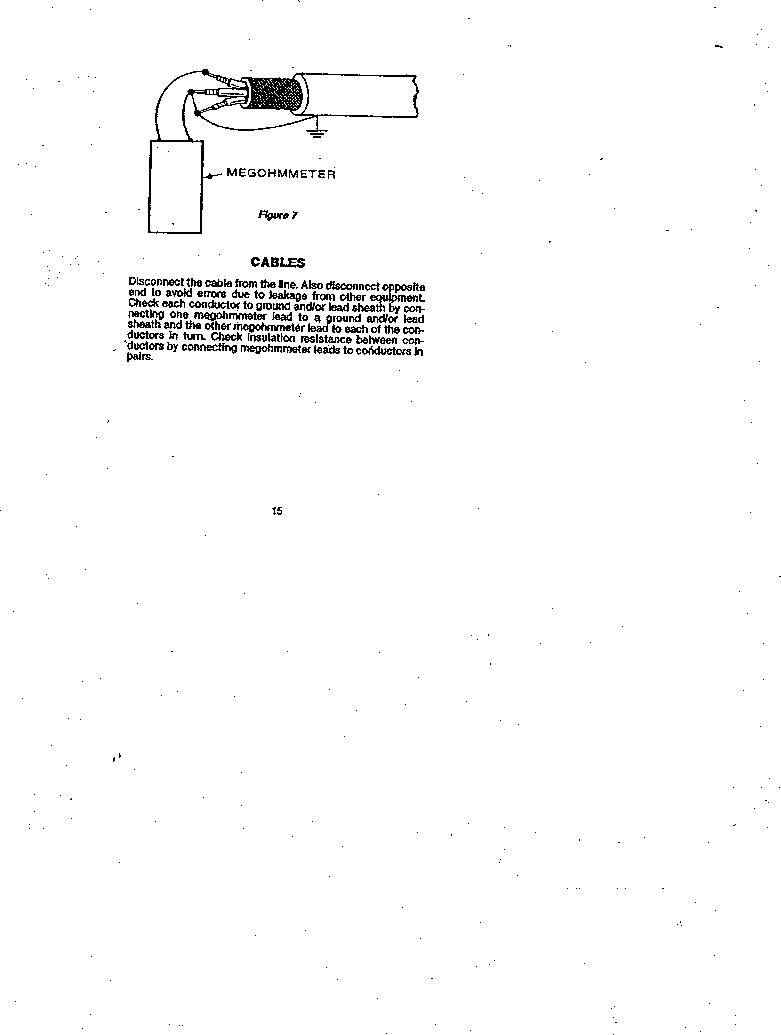 AMC-3 ,Amprobe厂商,MEGOHMMETER HND CRANKD 1000V, AMC-3 datasheet预览  第15页