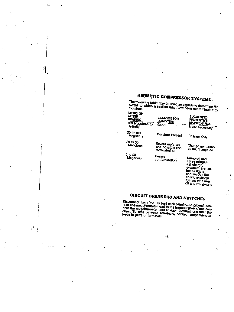 AMC-3 ,Amprobe厂商,MEGOHMMETER HND CRANKD 1000V, AMC-3 datasheet预览  第16页