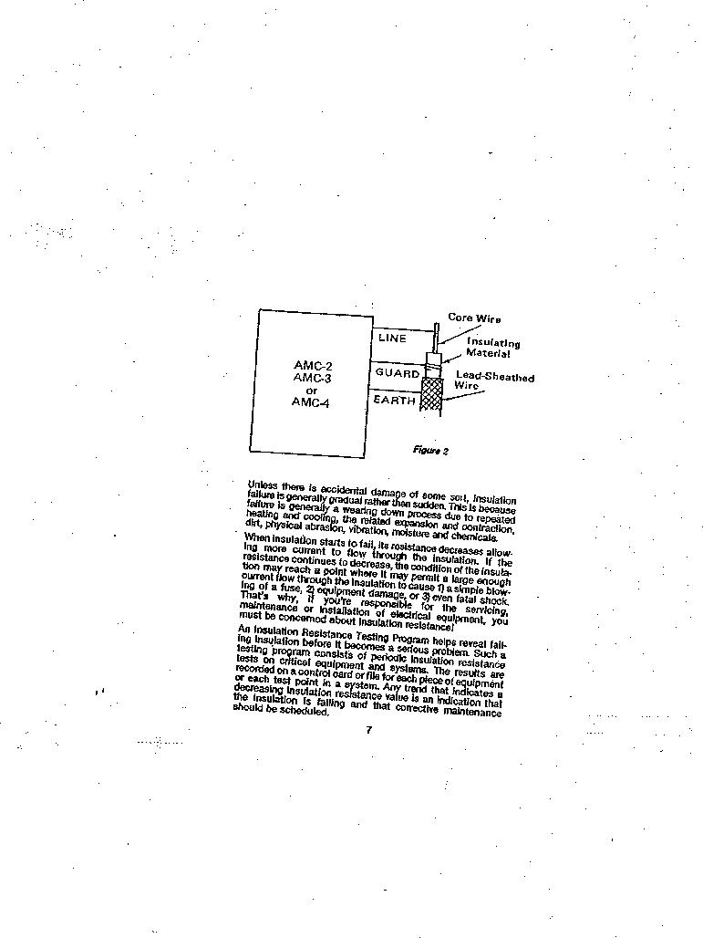AMC-3 ,Amprobe厂商,MEGOHMMETER HND CRANKD 1000V, AMC-3 datasheet预览  第7页