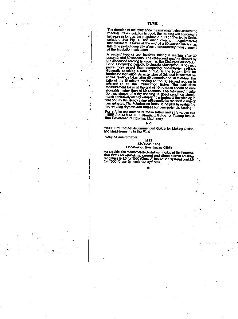 AMC-3 ,Amprobe厂商,MEGOHMMETER HND CRANKD 1000V, AMC-3 datasheet预览  第10页