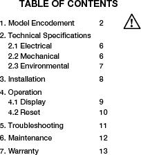 906T24BNMAO ,Curtis Instruments Inc厂商,METER BATTERY VOLTAGE 24VDC OEM, 906T24BNMAO datasheet预览  第4页
