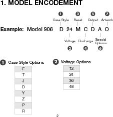 906T24BNMAO ,Curtis Instruments Inc厂商,METER BATTERY VOLTAGE 24VDC OEM, 906T24BNMAO datasheet预览  第5页