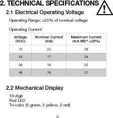 906T24BNMAO ,Curtis Instruments Inc厂商,METER BATTERY VOLTAGE 24VDC OEM, 906T24BNMAO datasheet预览  第9页