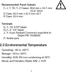 906T24BNMAO ,Curtis Instruments Inc厂商,METER BATTERY VOLTAGE 24VDC OEM, 906T24BNMAO datasheet预览  第10页