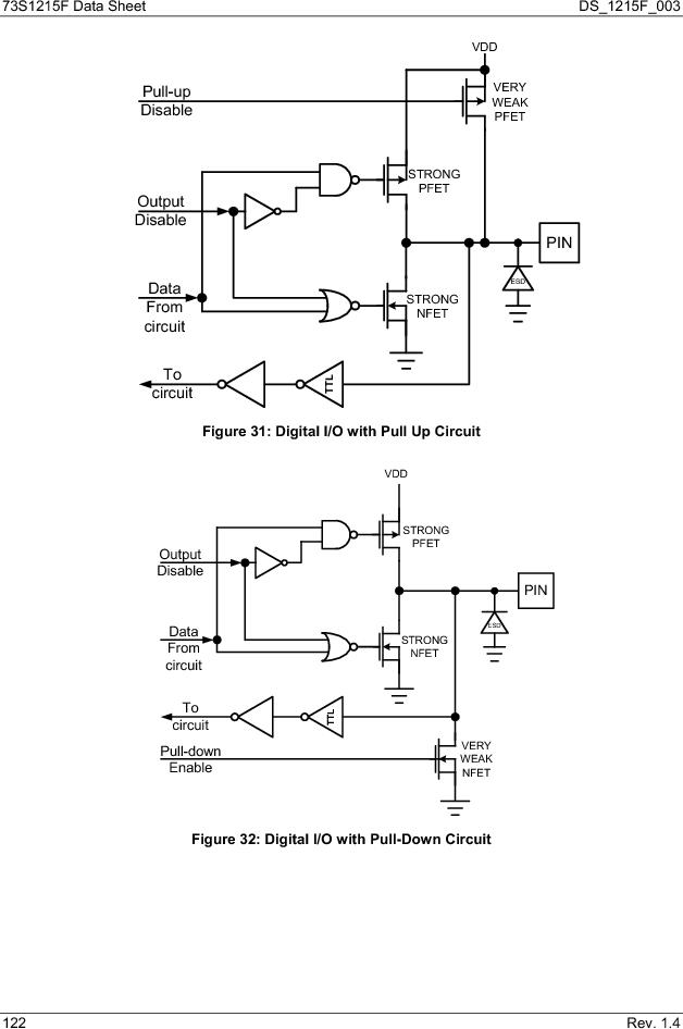 73S1215F-44IM/F/P ,Maxim Integrated厂商,IC SMART CARD READER PROG 44-QFN, 73S1215F-44IM/F/P datasheet预览  第122页