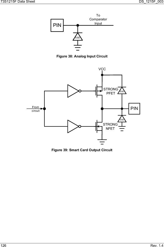 73S1215F-44IM/F/P ,Maxim Integrated厂商,IC SMART CARD READER PROG 44-QFN, 73S1215F-44IM/F/P datasheet预览  第126页