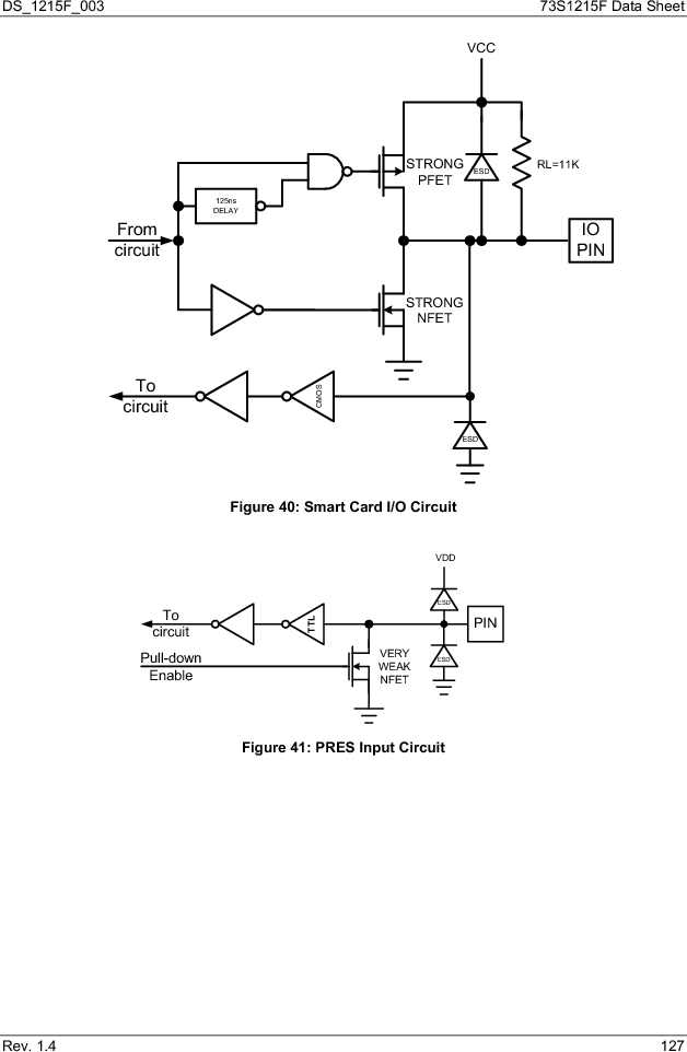 73S1215F-44IM/F/P ,Maxim Integrated厂商,IC SMART CARD READER PROG 44-QFN, 73S1215F-44IM/F/P datasheet预览  第127页