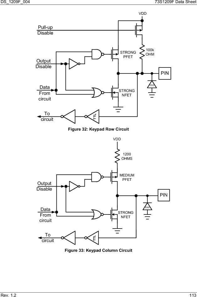 73S1209F-68IM/F/P ,Maxim Integrated厂商,IC SMART CARD READER PROG 68-QFN, 73S1209F-68IM/F/P datasheet预览  第113页