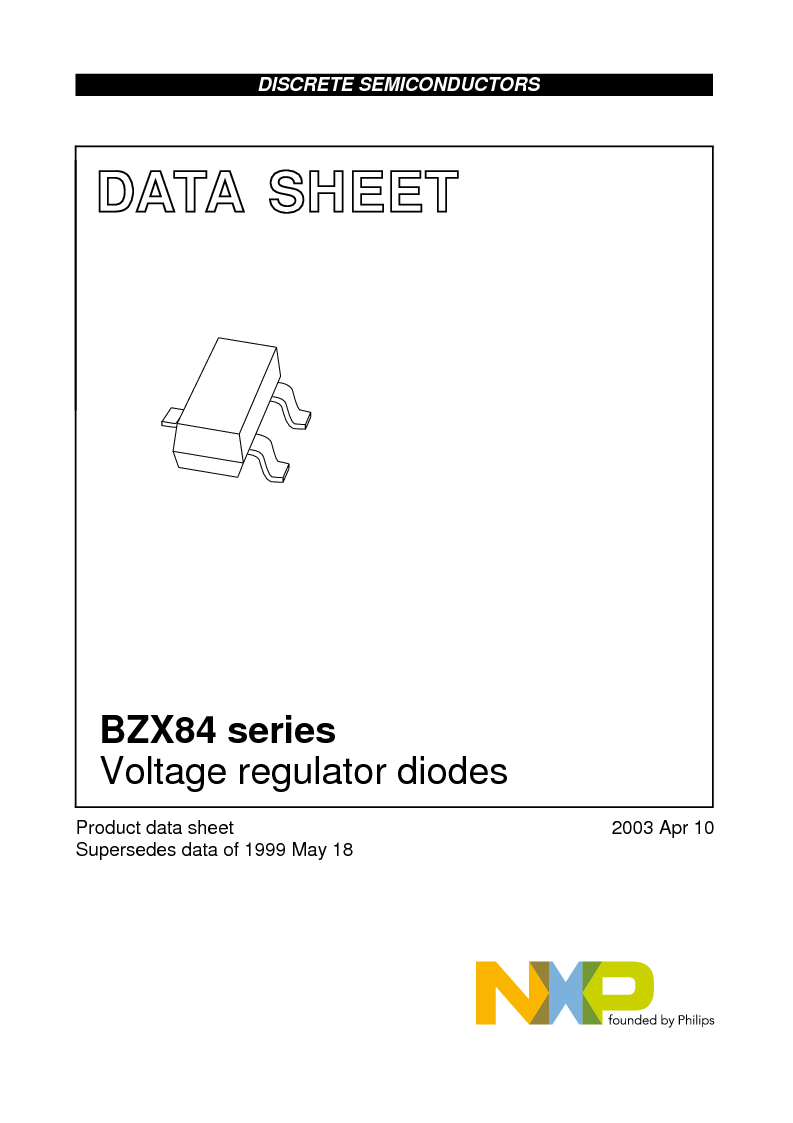 BZX84-C10,235 ,NXP Semiconductors厂商,DIODE ZENER 10V 250MW SOT23, BZX84-C10,235 datasheet预览  第1页