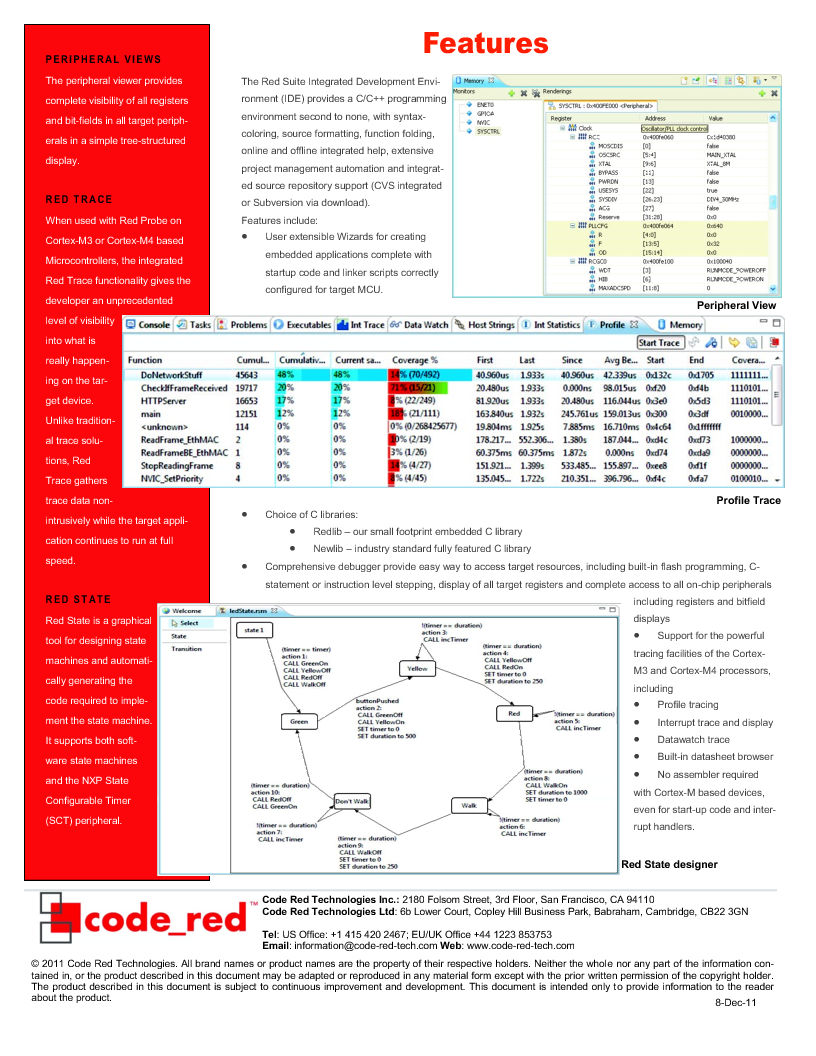 RSPK-PLUS ,Code Red Technologies厂商,Development Software RED SUITE LICENSE W/ RED PROBE+, RSPK-PLUS datasheet预览  第2页