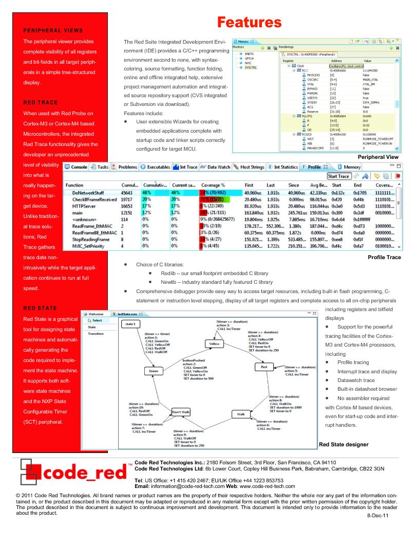 RSRDB ,Code Red Technologies厂商,Development Software RED SUITE LICENSE W/ RDB1768V2, RSRDB datasheet预览  第2页
