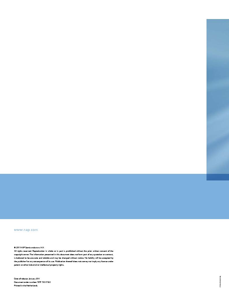 PEMI8QFN/HK,132 ,NXP Semiconductors厂商,IC RC FILTER NETWORK 8CH 16HXSON, PEMI8QFN/HK,132 datasheet预览  第68页