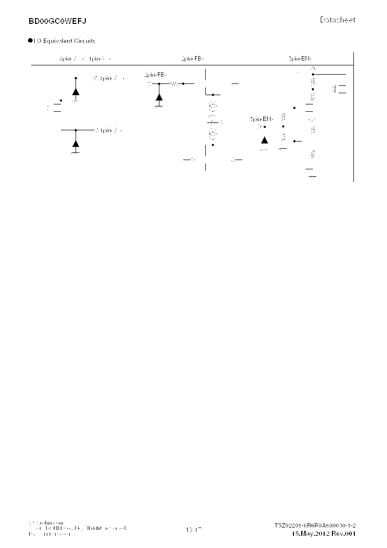 BD00GC0WEFJ-E2 ,Rohm Semiconductor厂商,IC REG LDO ADJ 1A 8-HTSOP, BD00GC0WEFJ-E2 datasheet预览  第13页