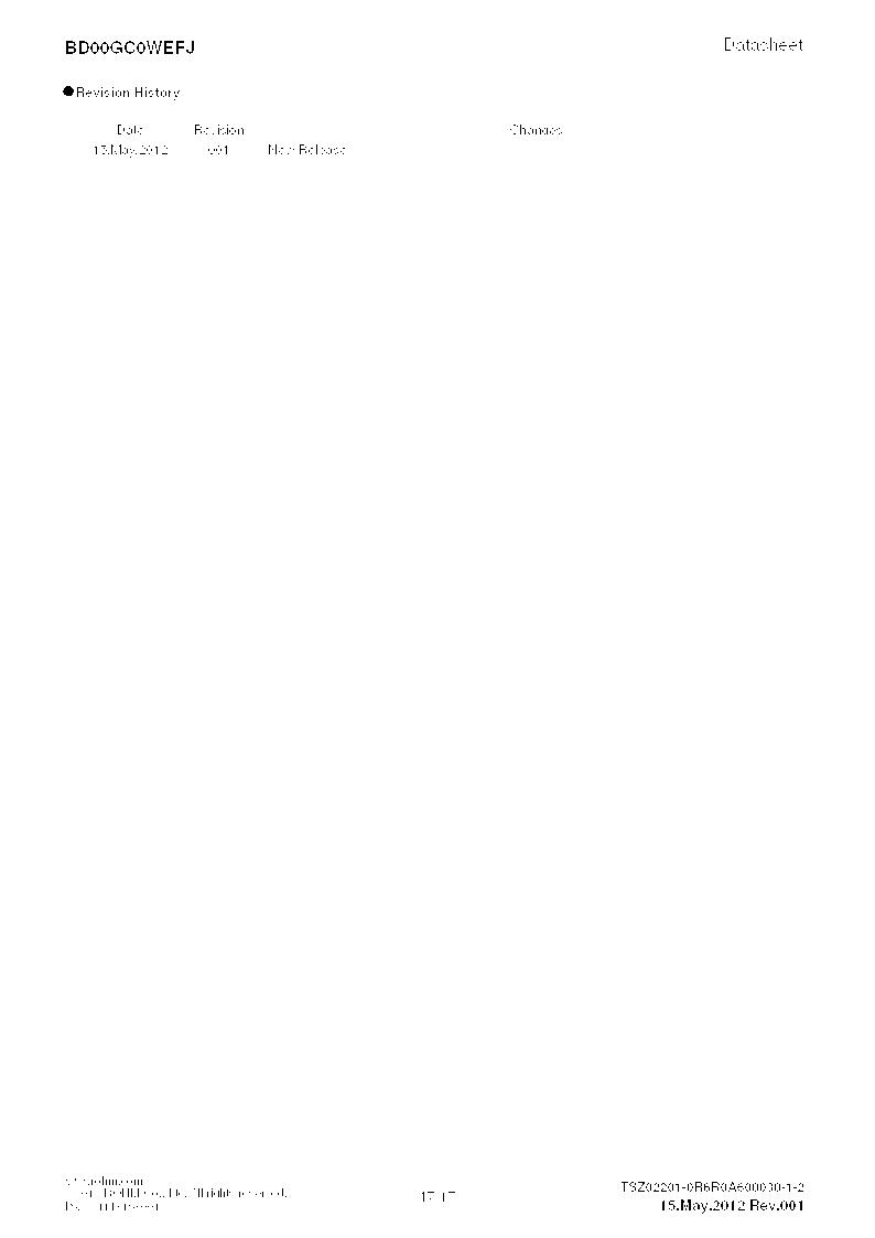BD00GC0WEFJ-E2 ,Rohm Semiconductor厂商,IC REG LDO ADJ 1A 8-HTSOP, BD00GC0WEFJ-E2 datasheet预览  第17页