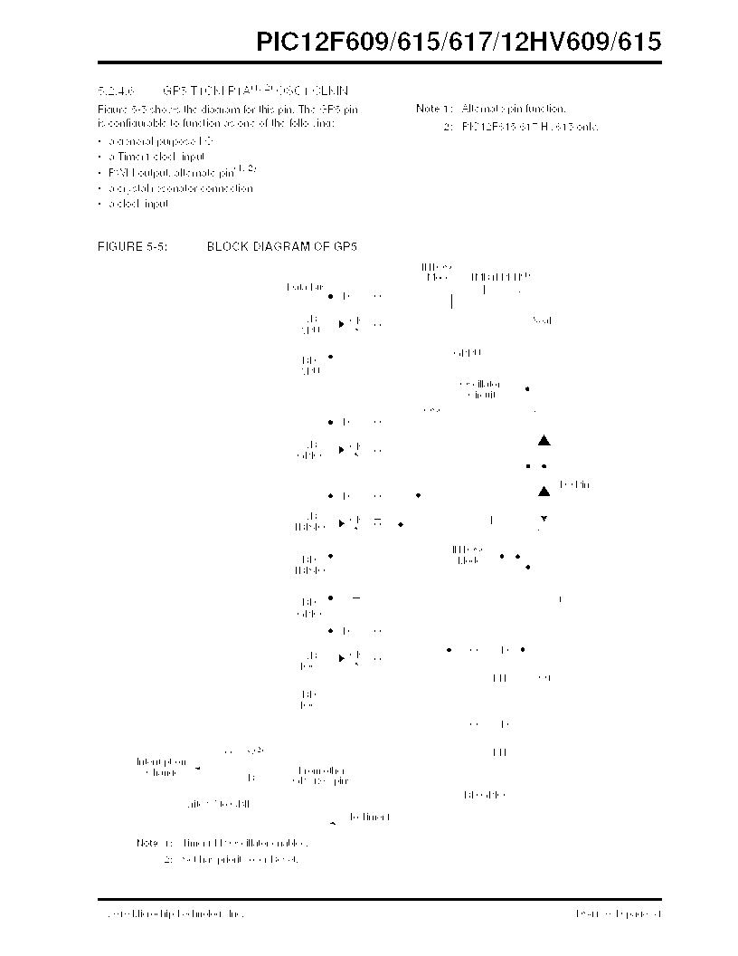 PIC12F609-I/MD ,Microchip Technology厂商,IC PIC MCU FLASH 1KX14 8DFN, PIC12F609-I/MD datasheet预览  第51页