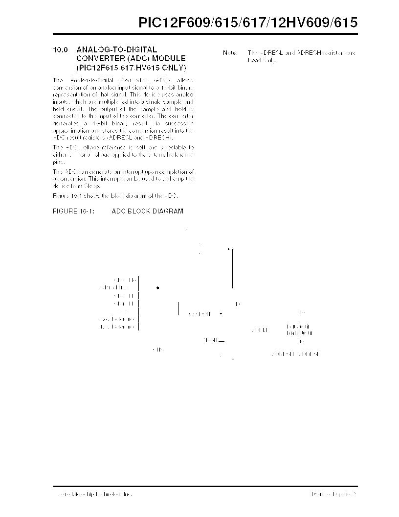 PIC12F609-I/MD ,Microchip Technology厂商,IC PIC MCU FLASH 1KX14 8DFN, PIC12F609-I/MD datasheet预览  第79页