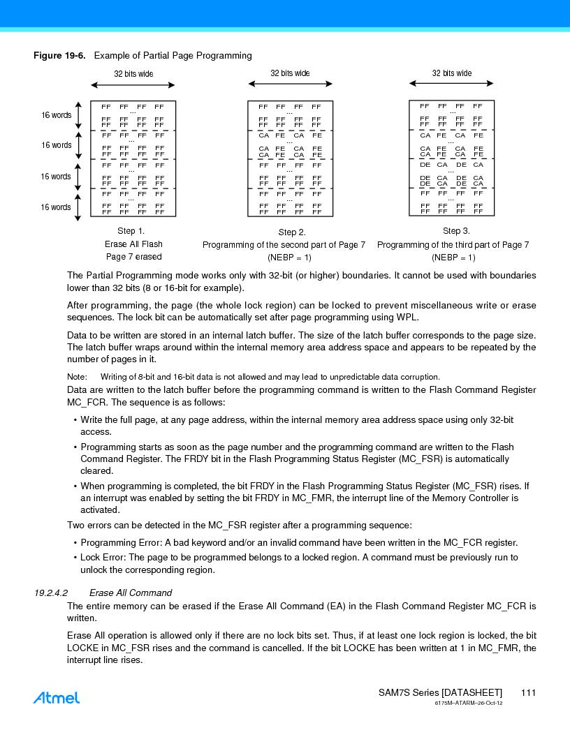 AT91SAM7S128D-AU-999 ,Atmel厂商,IC MCU ARM7 128KB FLASH 64LQFP, AT91SAM7S128D-AU-999 datasheet预览  第111页
