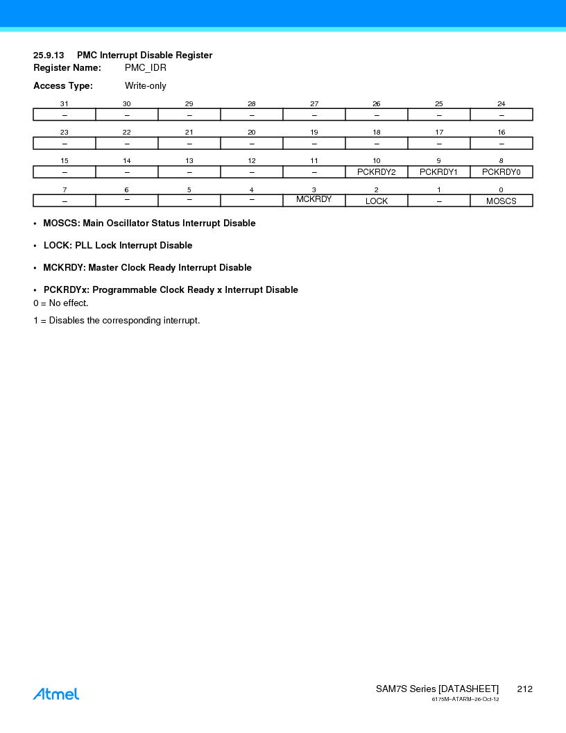AT91SAM7S128D-AU-999 ,Atmel厂商,IC MCU ARM7 128KB FLASH 64LQFP, AT91SAM7S128D-AU-999 datasheet预览  第212页