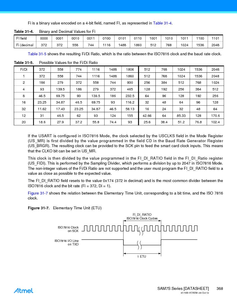 AT91SAM7S128D-AU-999 ,Atmel厂商,IC MCU ARM7 128KB FLASH 64LQFP, AT91SAM7S128D-AU-999 datasheet预览  第368页