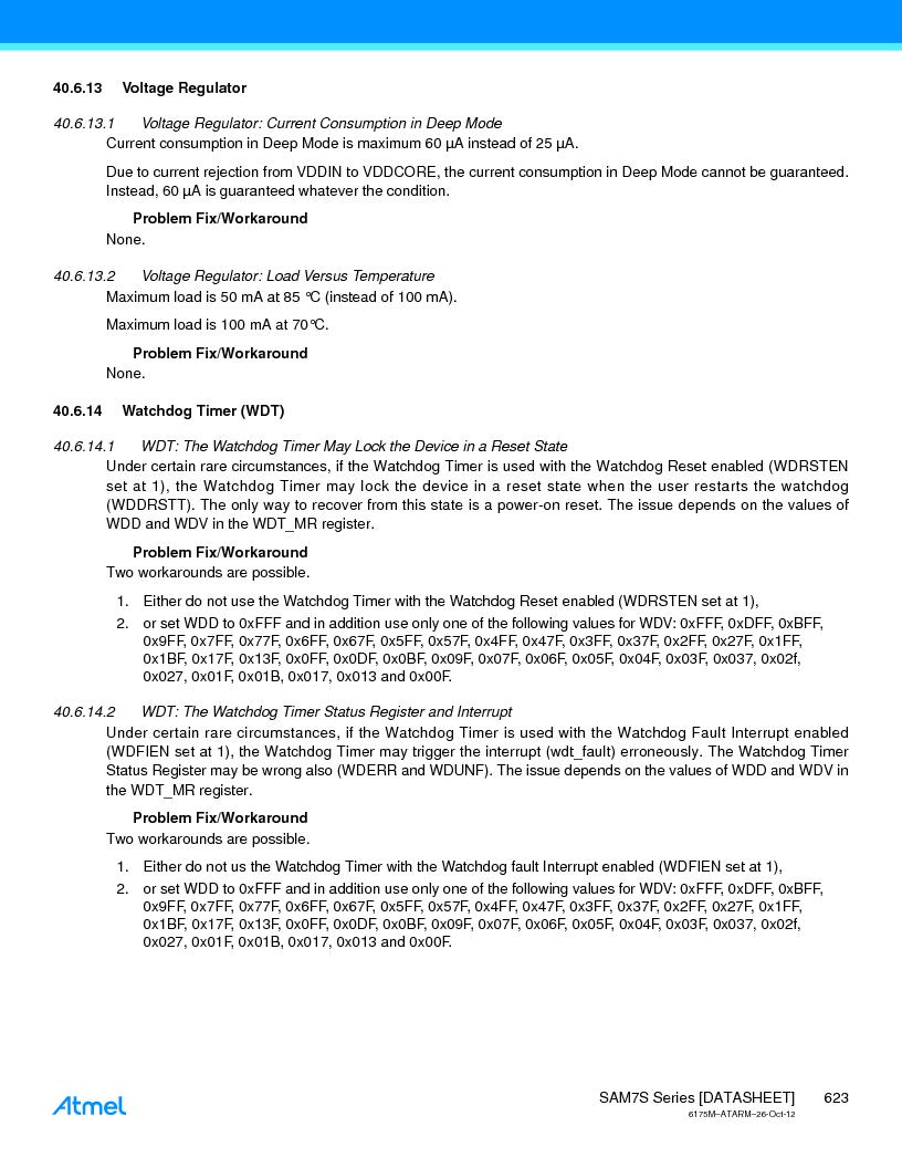 AT91SAM7S128D-AU-999 ,Atmel厂商,IC MCU ARM7 128KB FLASH 64LQFP, AT91SAM7S128D-AU-999 datasheet预览  第623页