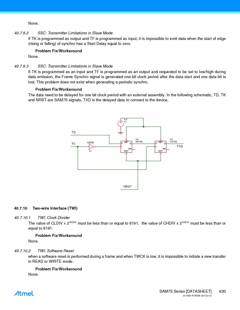 AT91SAM7S128D-AU-999 ,Atmel厂商,IC MCU ARM7 128KB FLASH 64LQFP, AT91SAM7S128D-AU-999 datasheet预览  第630页
