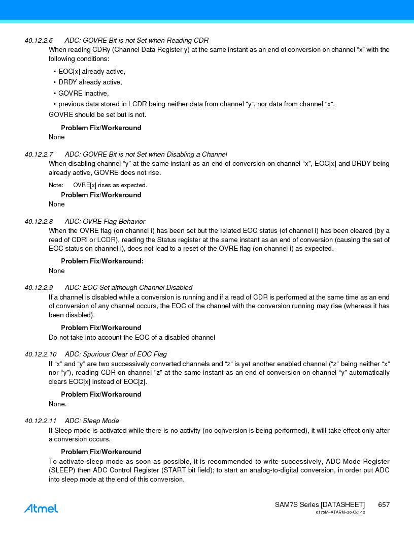 AT91SAM7S128D-AU-999 ,Atmel厂商,IC MCU ARM7 128KB FLASH 64LQFP, AT91SAM7S128D-AU-999 datasheet预览  第657页