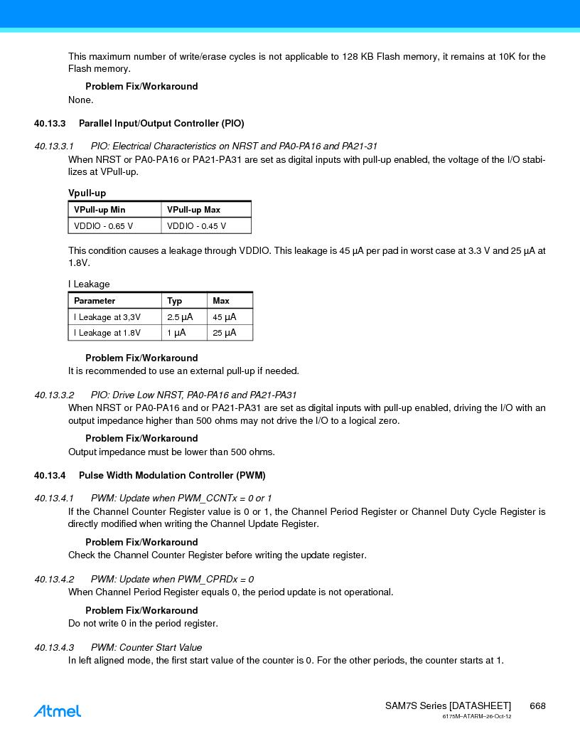 AT91SAM7S128D-AU-999 ,Atmel厂商,IC MCU ARM7 128KB FLASH 64LQFP, AT91SAM7S128D-AU-999 datasheet预览  第668页