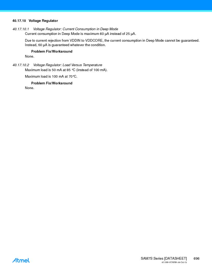 AT91SAM7S128D-AU-999 ,Atmel厂商,IC MCU ARM7 128KB FLASH 64LQFP, AT91SAM7S128D-AU-999 datasheet预览  第696页