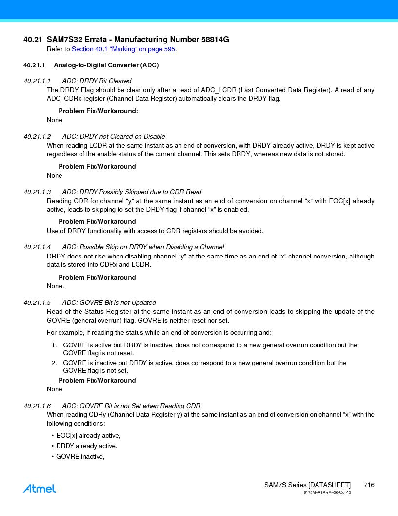 AT91SAM7S128D-AU-999 ,Atmel厂商,IC MCU ARM7 128KB FLASH 64LQFP, AT91SAM7S128D-AU-999 datasheet预览  第716页