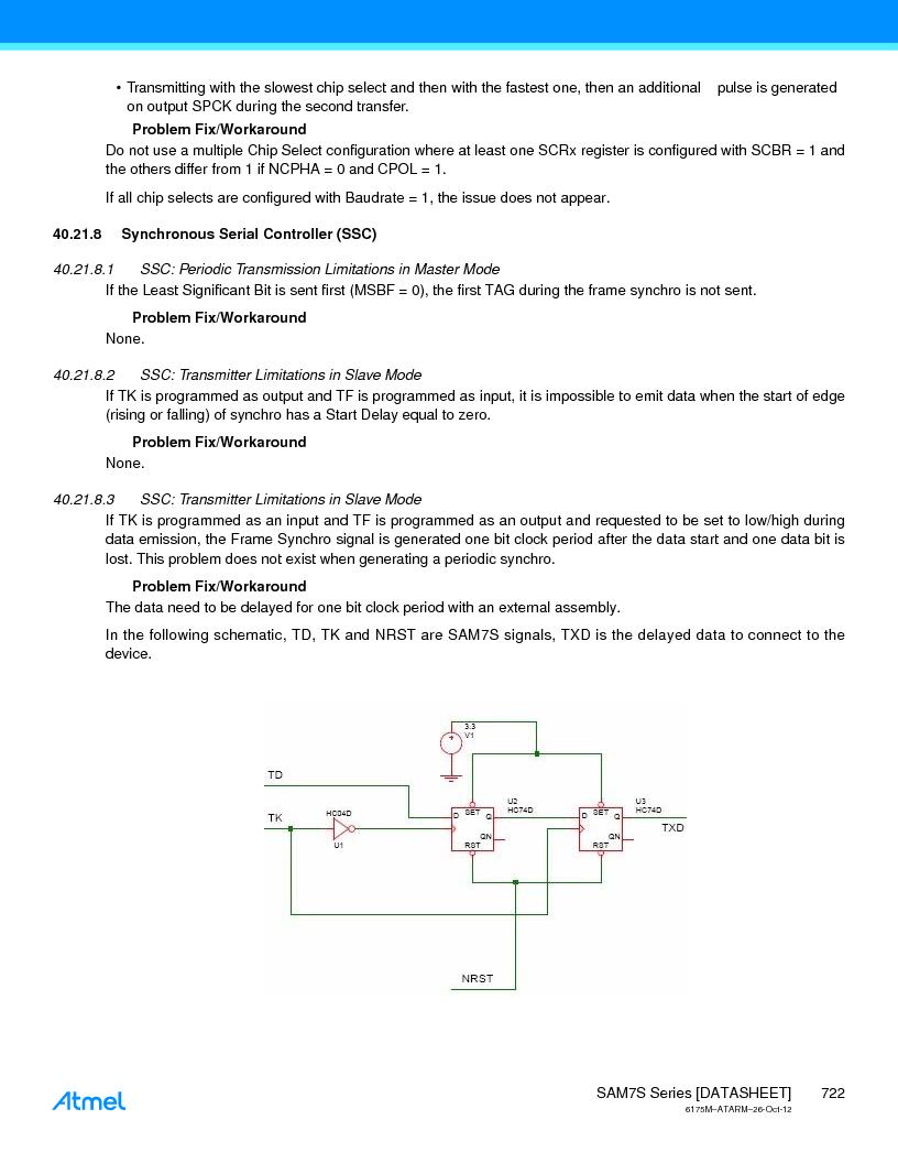 AT91SAM7S128D-AU-999 ,Atmel厂商,IC MCU ARM7 128KB FLASH 64LQFP, AT91SAM7S128D-AU-999 datasheet预览  第722页