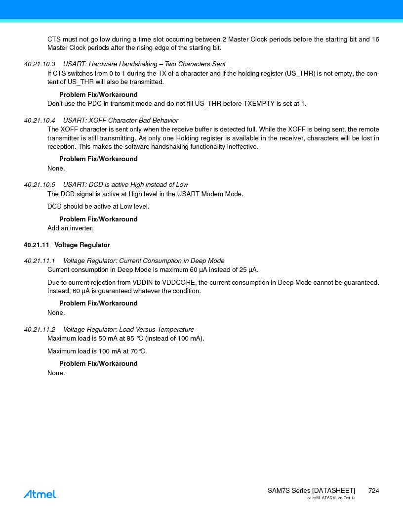 AT91SAM7S128D-AU-999 ,Atmel厂商,IC MCU ARM7 128KB FLASH 64LQFP, AT91SAM7S128D-AU-999 datasheet预览  第724页