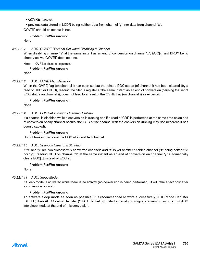 AT91SAM7S128D-AU-999 ,Atmel厂商,IC MCU ARM7 128KB FLASH 64LQFP, AT91SAM7S128D-AU-999 datasheet预览  第726页