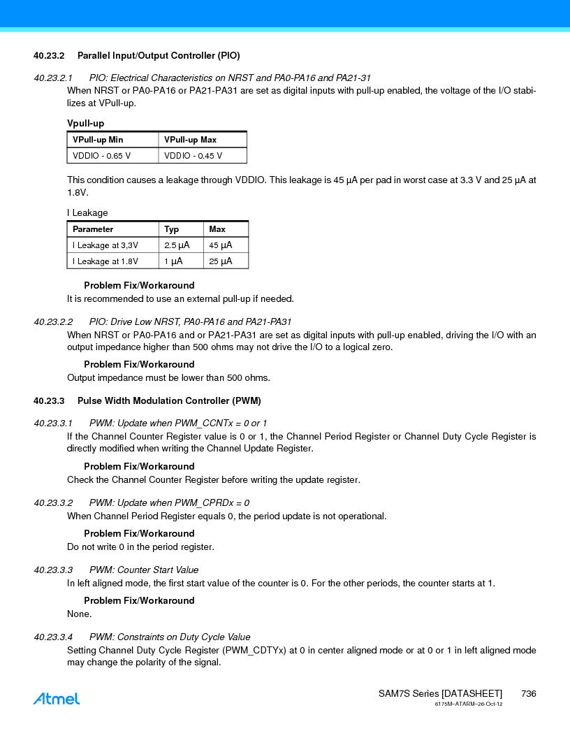 AT91SAM7S128D-AU-999 ,Atmel厂商,IC MCU ARM7 128KB FLASH 64LQFP, AT91SAM7S128D-AU-999 datasheet预览  第736页