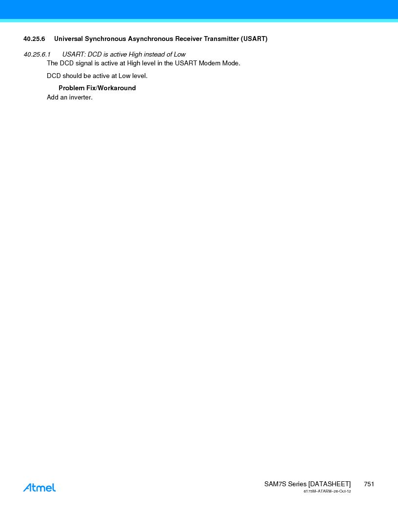 AT91SAM7S128D-AU-999 ,Atmel厂商,IC MCU ARM7 128KB FLASH 64LQFP, AT91SAM7S128D-AU-999 datasheet预览  第751页