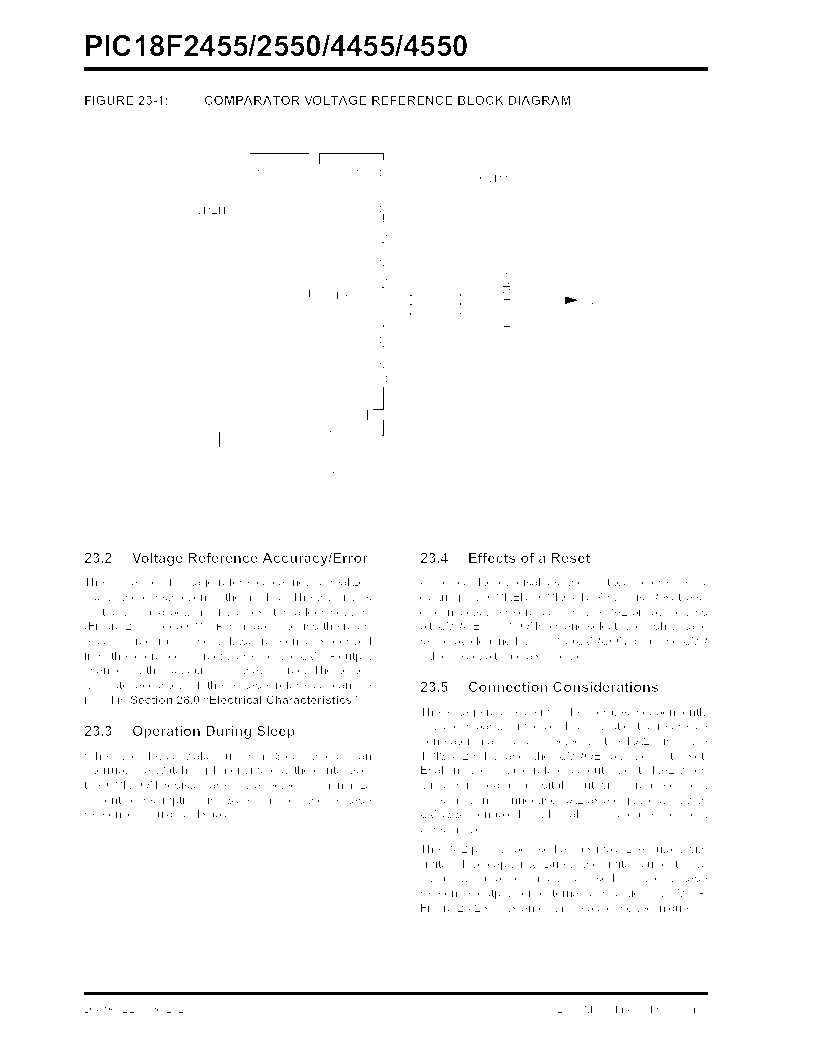 PIC18F2550-I/SP ,Microchip Technology厂商,IC PIC MCU FLASH 16KX16 28SDIP, PIC18F2550-I/SP datasheet预览  第284页