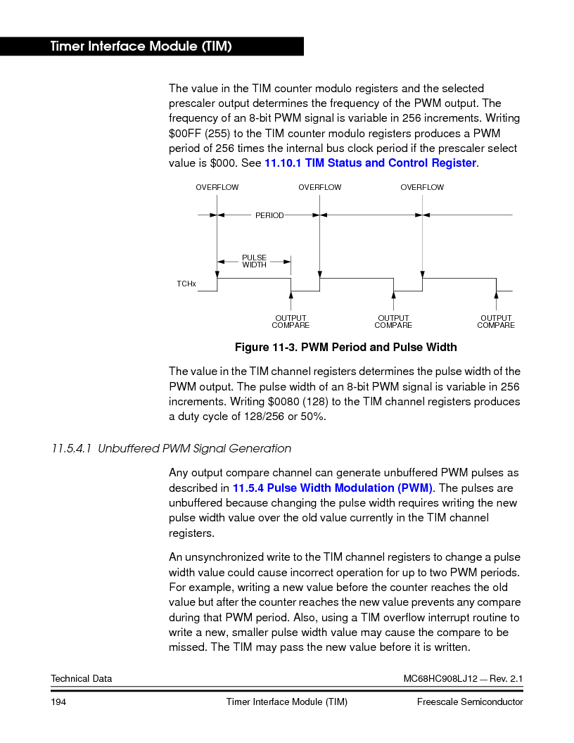 MC908LJ12CFUE ,Freescale Semiconductor厂商,IC MCU 12K FLASH 4/8MHZ 64-QFP, MC908LJ12CFUE datasheet预览  第194页