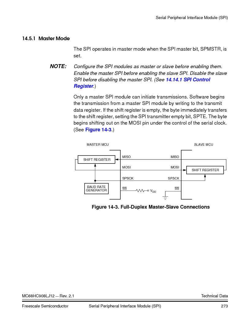 MC908LJ12CFUE ,Freescale Semiconductor厂商,IC MCU 12K FLASH 4/8MHZ 64-QFP, MC908LJ12CFUE datasheet预览  第273页