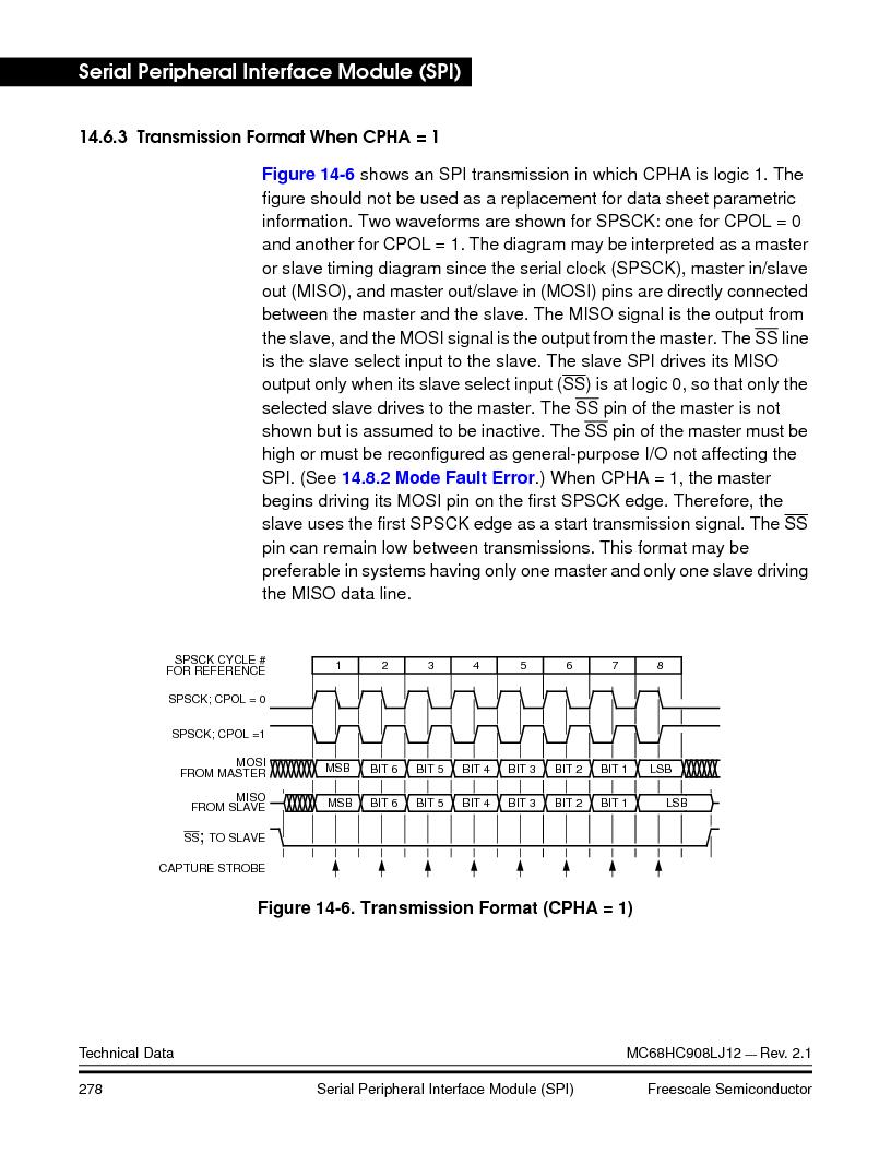 MC908LJ12CFUE ,Freescale Semiconductor厂商,IC MCU 12K FLASH 4/8MHZ 64-QFP, MC908LJ12CFUE datasheet预览  第278页