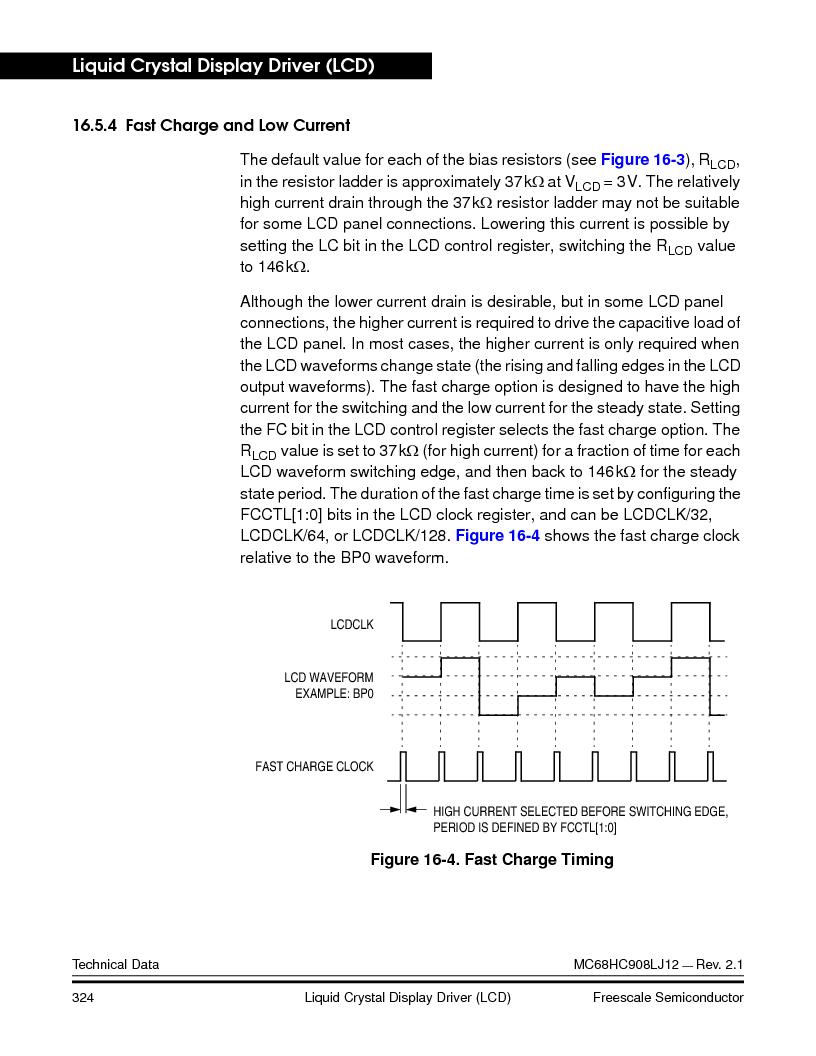 MC908LJ12CFUE ,Freescale Semiconductor厂商,IC MCU 12K FLASH 4/8MHZ 64-QFP, MC908LJ12CFUE datasheet预览  第324页
